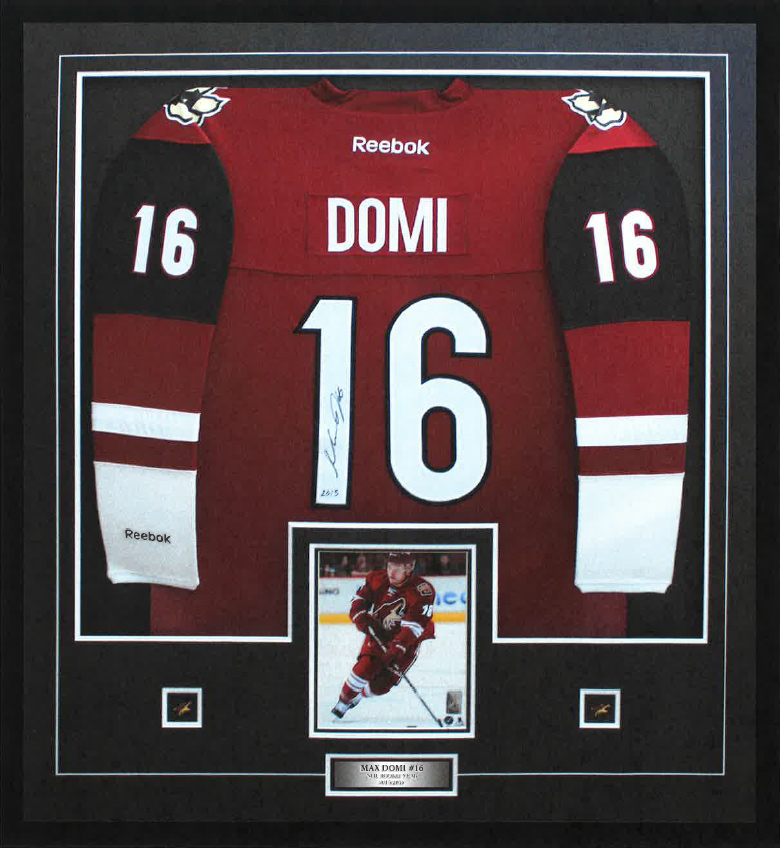 Max Domi Autographed Jerseys