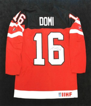 autographed jerseys - Max Domi