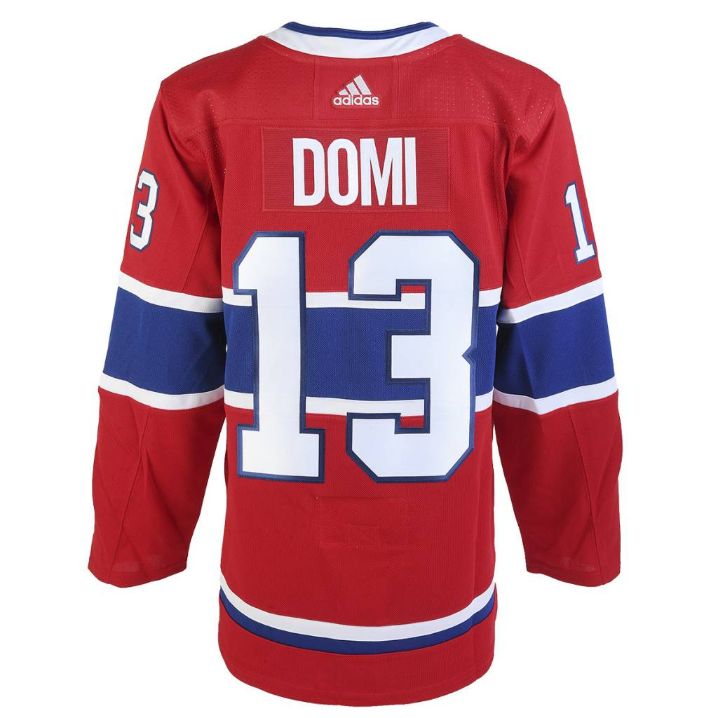signed max domi jersey